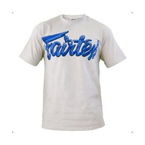 Fairtex Multi-Blue Script T-Shirt