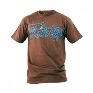 Fairtex Splatter Script T-Shirt