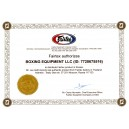 Fairtex Authorizes Certificate